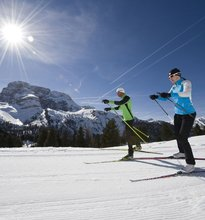 XC skiing in the holiday region Three Peaks
