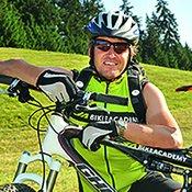Andi Hauser, Bikeguide in der Region