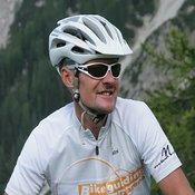 Georg Mott, Chef der örtlichen Bikeschule Bikeguiding Zugspitz Arena