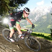 Lukas Islitzer, Elitebiker vom Team Craft Rocky Mountain