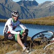 Roland Stauder, ehemaliger MTB-Profi, Bike-Experte der Region und Stoneman Trail Gründer