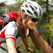 Karin Hettegger, Bikeguide in der Region