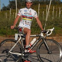 Andreas Pomella, <br /> bike pro and guide from the region