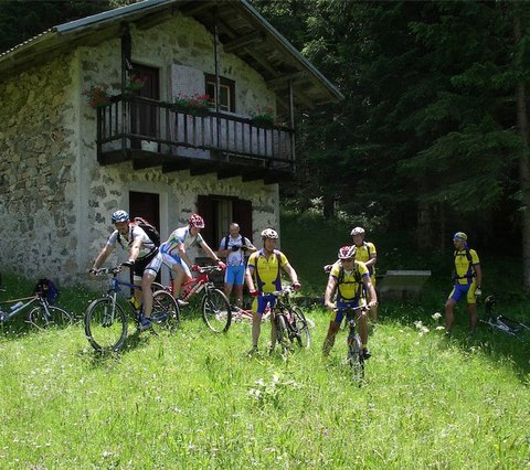 Mountainbiken im Trentino - Italien