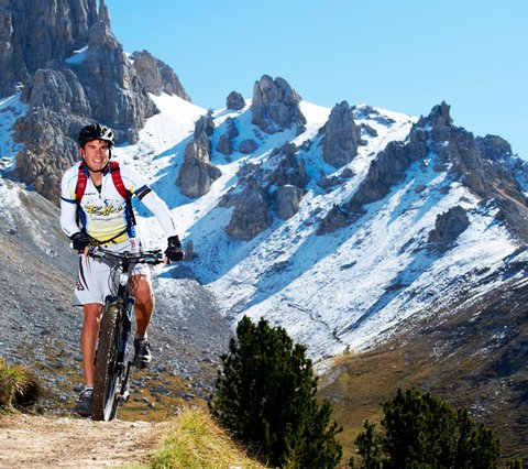 Mountainbike-Region Dolomiten Eggental