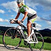 Doro Karbach, triathlete of X3 Team Austria, 3-times competitor in the 70.3 Clearwater/Las Vegas World Cup and 8-times Ironman finalist