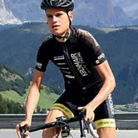 Stefan Kirchmair,<br /> active athlete of the Kirchmair Cycling Team and cycling coach