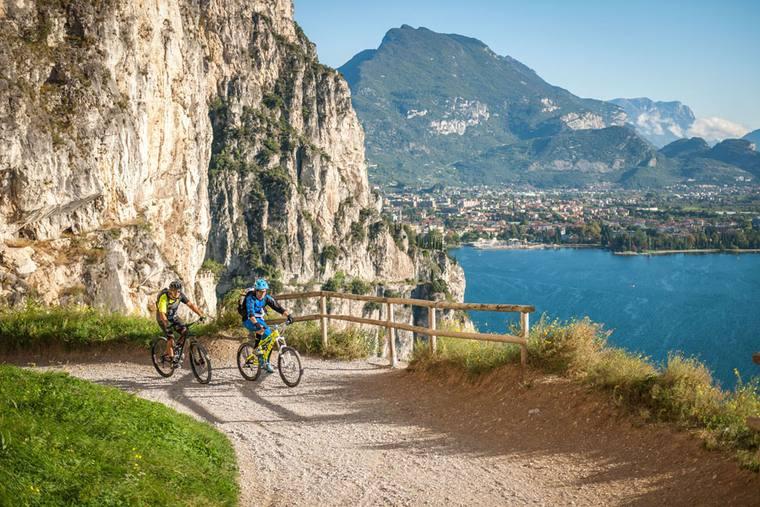 Gardasee Mountainbiken © Ponale-R.-Kiaulehn