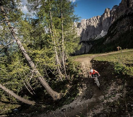 Mountainbike Region Alta Badia © molography.it