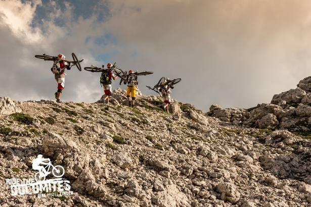 Süchtig nach hochalpinen Abenteuern