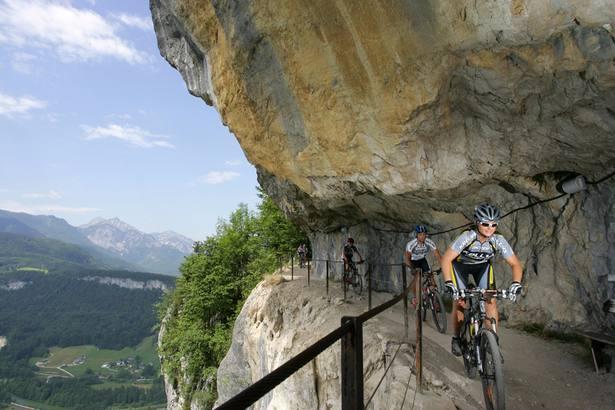 Ich bike auf den Spuren der legendären Salzkammergut-Trophy