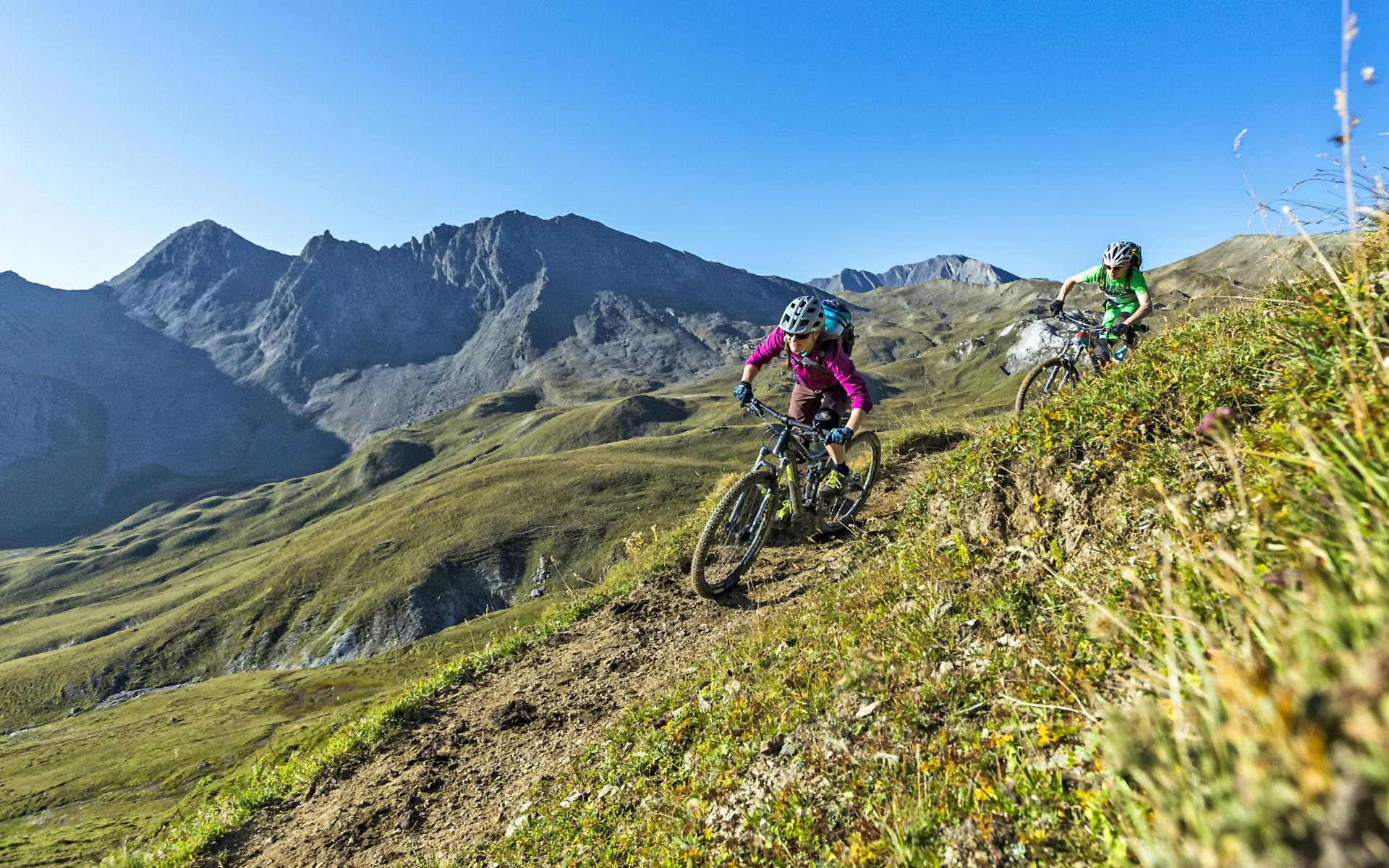 Bike hotels in Austria, Italy and Switzerland
