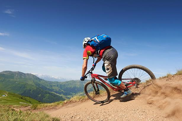 Hotel Hasenauer - Downhill-Action at Hochalm trail