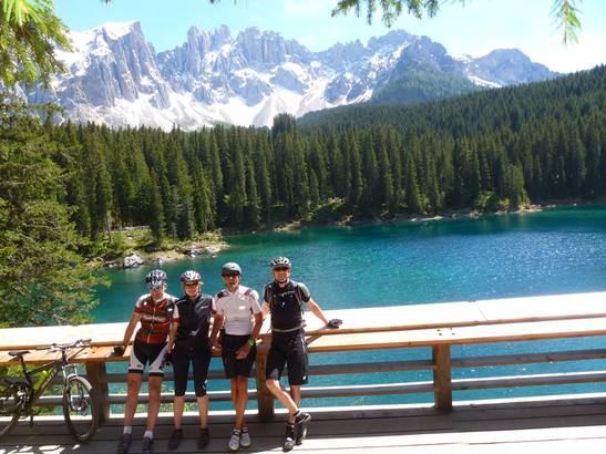 Bike adventure in South Tyrol around Hotel Marica