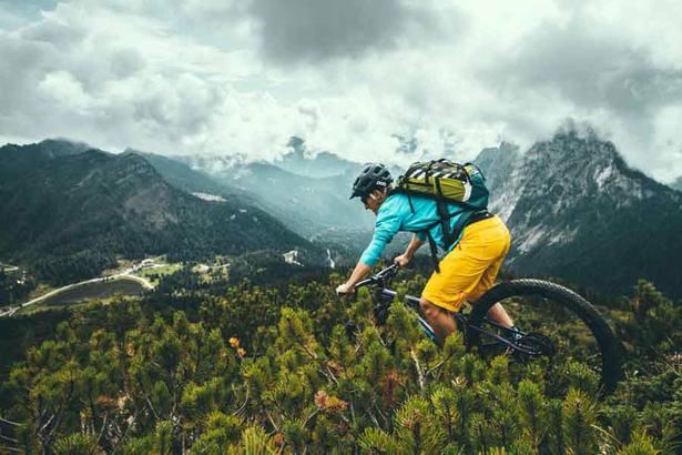 Rain in your mountain bike holidays