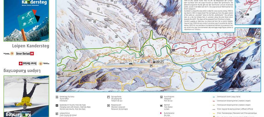 Trail area Kandersteg