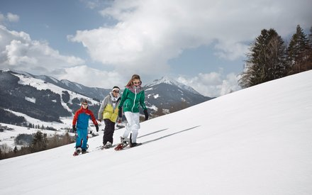 Schneeschuhwandern in Saalfelden Leogang