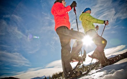 Snowshoeing in Chiemgau (c) Chiemgau Tourismus e.V