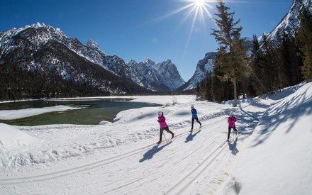 Wintersport im Hochpustertal