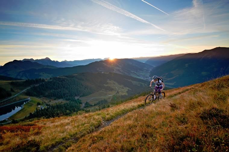 Mountainbike Urlaub in Saalfelden Leogang