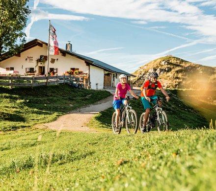 Mountainbike Urlaub in St. Johann