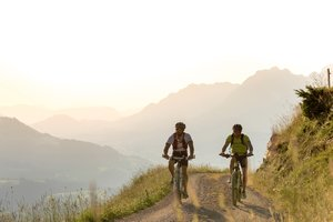 Mountainbike Tour in St. Johann in Tirol