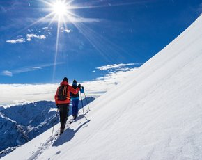 Ski touring camp in the Kitzbuehel Alps