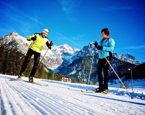 PillerseeTal: Best conditions on the cross country ski tracks