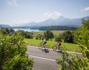 Limitless roadbike experience at Lake Faak