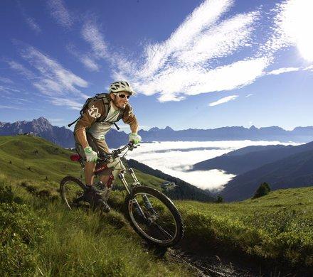 Biken in Saalbach © Stromberg