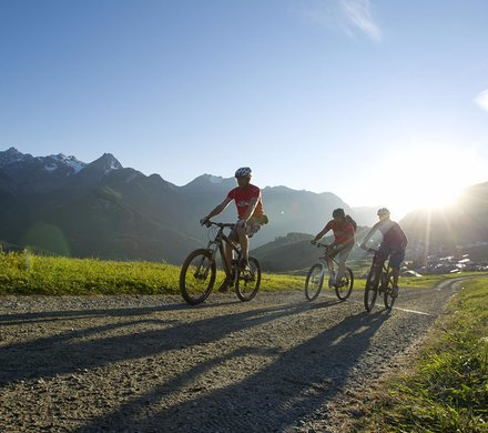 Mountainbiken in Scuol