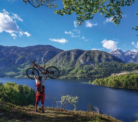 Biken in den Slowenischen Alpen