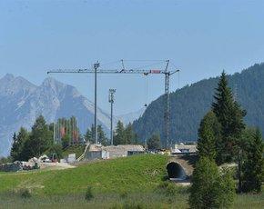 Construction progress Seefeld