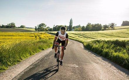 Wolfgang Fasching unterwegs in der Rennradregion Wels