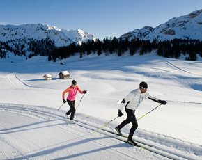 Cross Country Skiing in Toblach