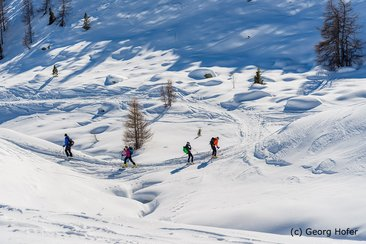 Ski touring in SouthTyrol