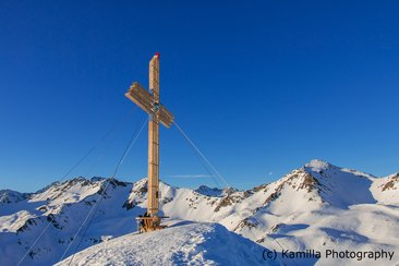 Ski tour on Hoher Mann South Tyrol