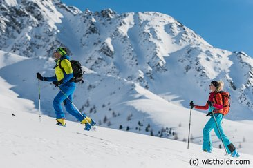 Great ski touring conditions in Gsiesertal