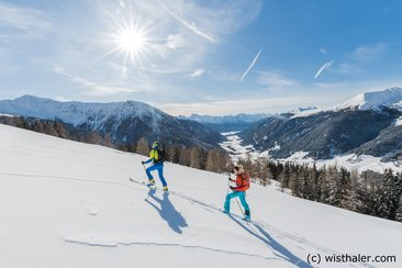 Ski touring in Gsiesertal