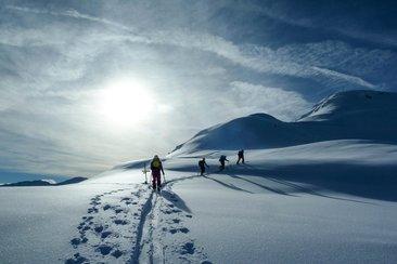Ski touring in Kötschach-Mauthen