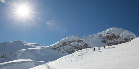 Winter sports camps in the Southern Alps