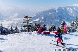 Skitour Ronachkopf Thumersbach Zell am See