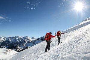 Skitour auf den Tristkogel im Salzburger Land