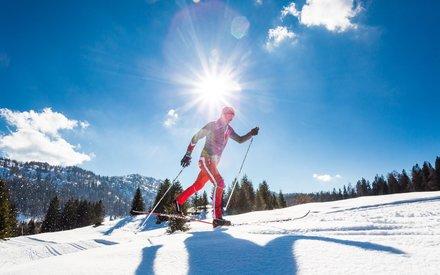 XC skiing in Bavaria © Ruhpolding Tourismus GmbH