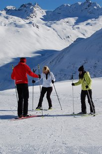 Cross-country ski trails and ski pistes