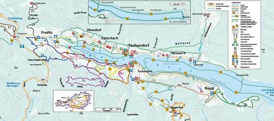 Trail area Weissensee