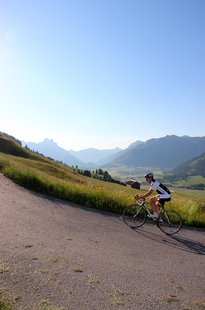 Cycling in the Tannheim Valley