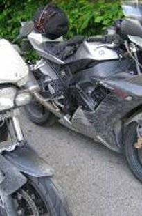 Ladies motorbike power