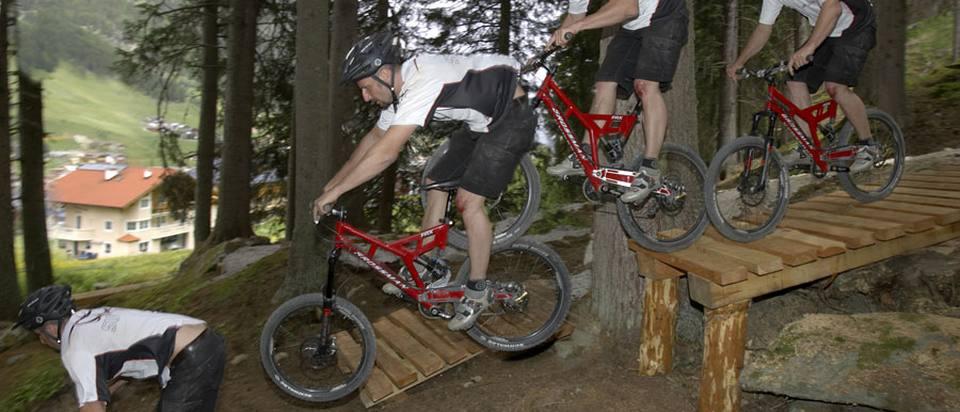 Freeride & Parks Mountainbike Arena Ischgl