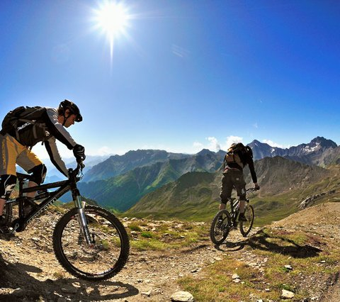 Bikearena Ischgl © Vaude